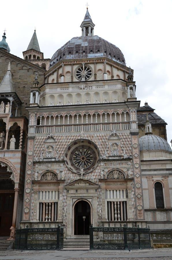 Colleoni Chapel, Citta Alta, Bergamo Italy royalty free stock photos
