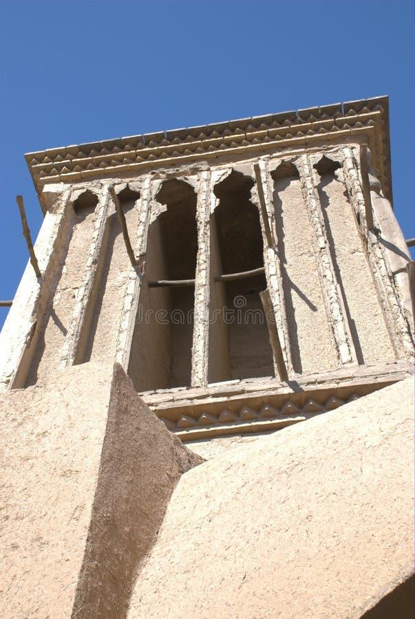 Collettore del vento di Yazd immagine stock libera da diritti