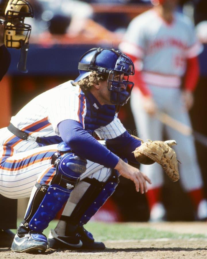 Collettore Gary Carter di New York Mets fotografie stock
