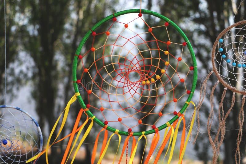 Collettori di sogno Talismano dell'amuleto del nativo americano immagine stock libera da diritti