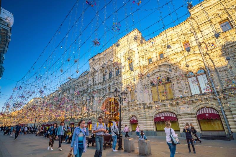 COLLEZ le magasin à Moscou près de la place rouge photographie stock