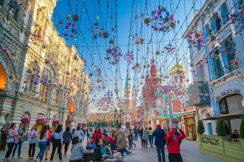 COLLEZ le magasin à Moscou près de la place rouge photos libres de droits