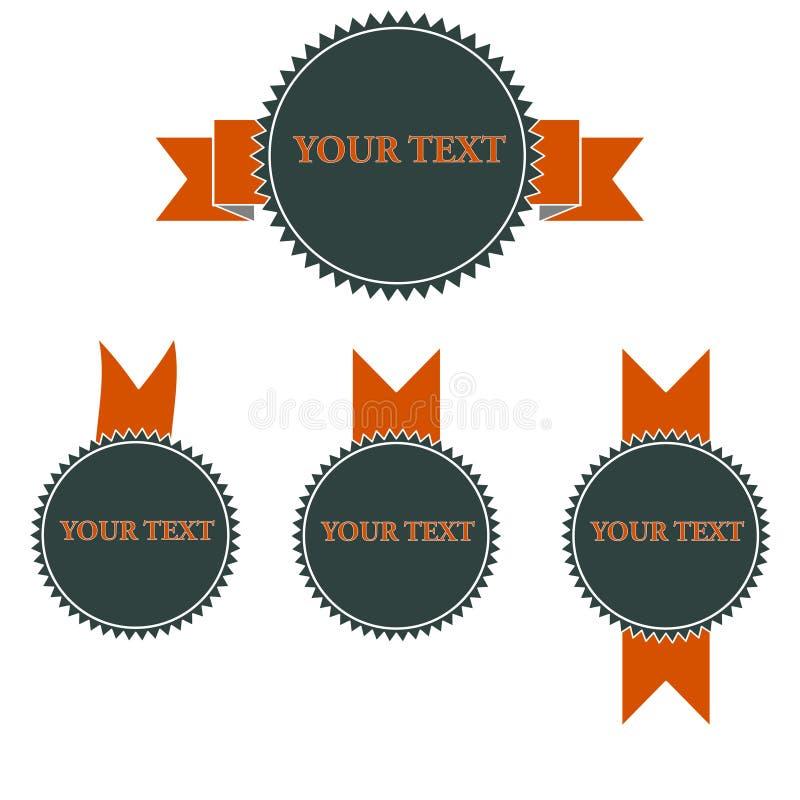 Collez votre texte photographie stock libre de droits
