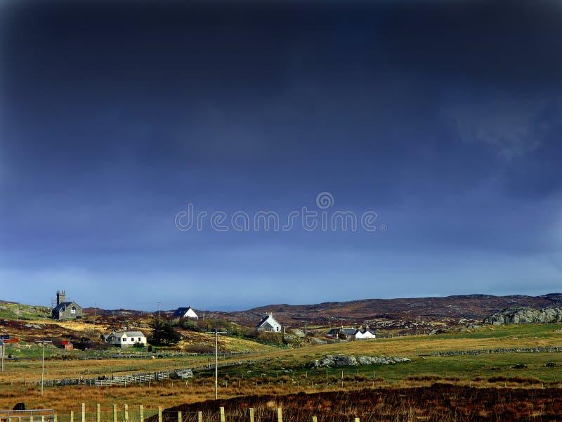 collhebridesisle scotland arkivbild