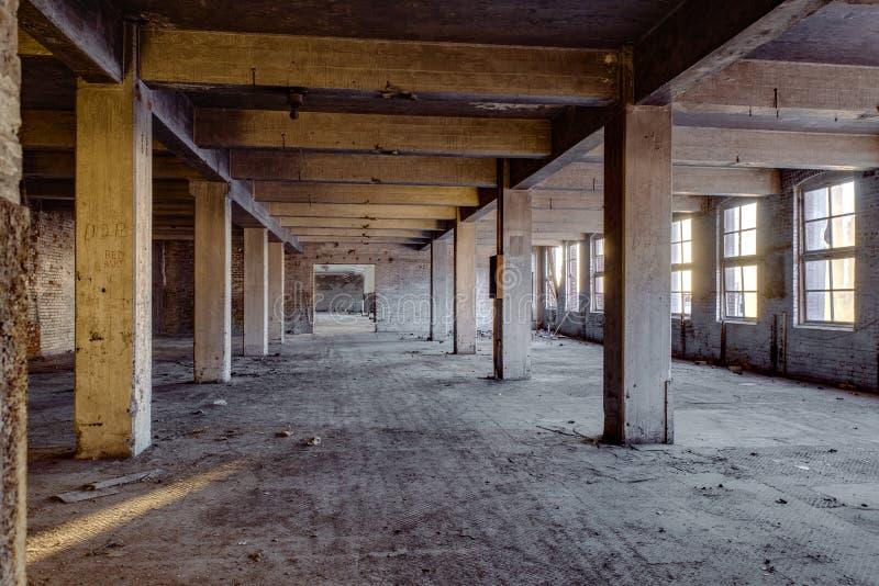Collier-Crowellbyggnad - Springfield, Ohio arkivbild