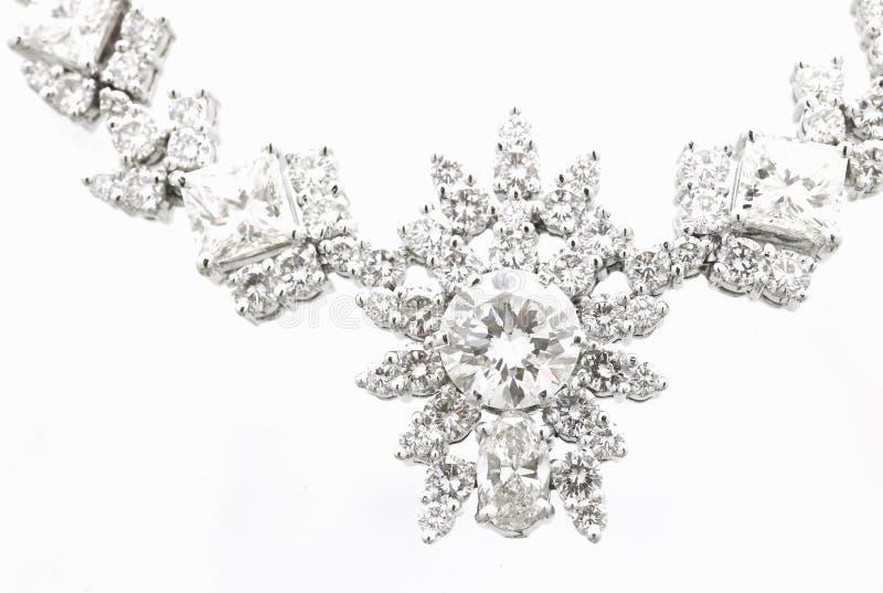 Collier de diamant photos stock