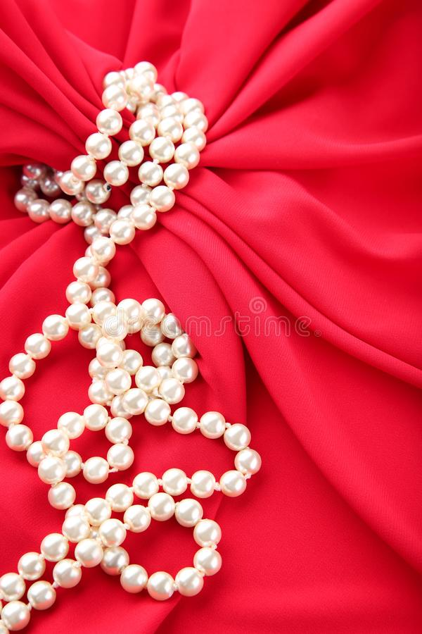 Collier de perle photographie stock libre de droits