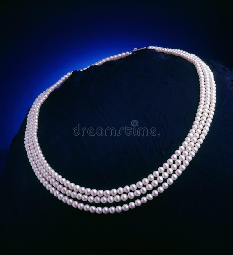 Collier de perle photo libre de droits