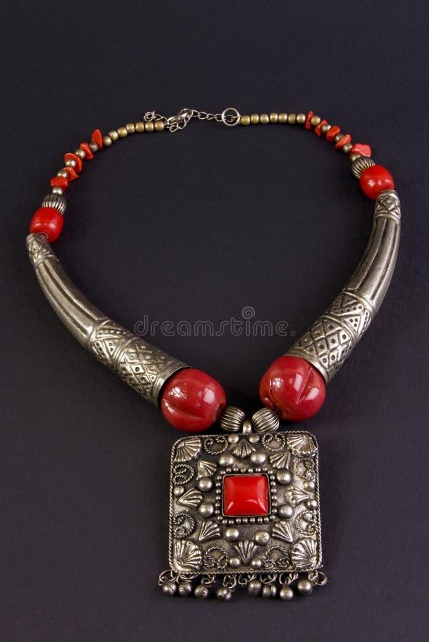 collier en métal photo libre de droits