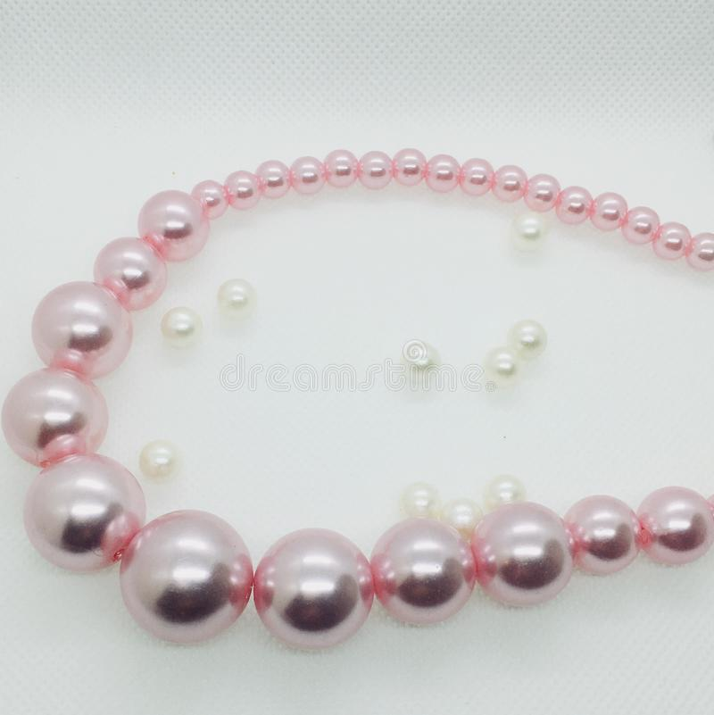 Collier rose image stock
