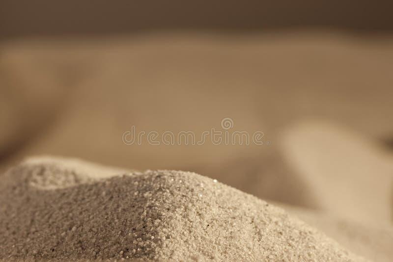 Collina da sabbia di mare fotografia stock libera da diritti