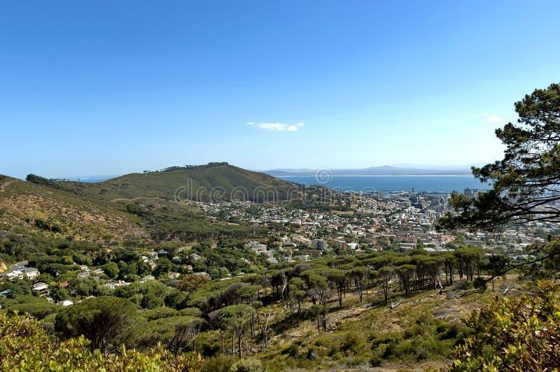 Collina del segnale, Città del Capo, Sudafrica. immagini stock