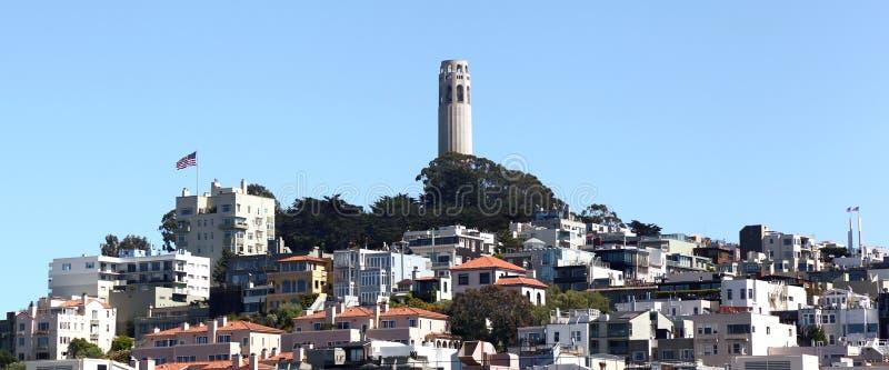 Collina del telegrafo, San Francisco immagine stock