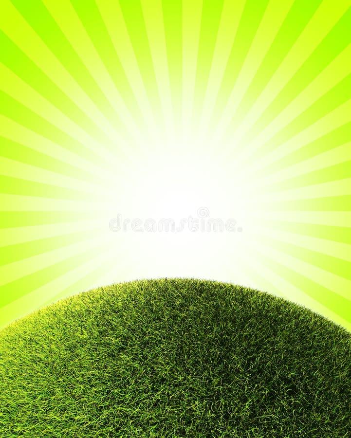 Collina dell'erba illustrazione vettoriale