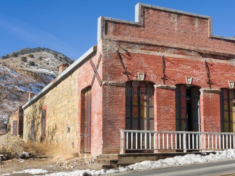Collina dell'oro, Nevada Post Office fotografia stock libera da diritti