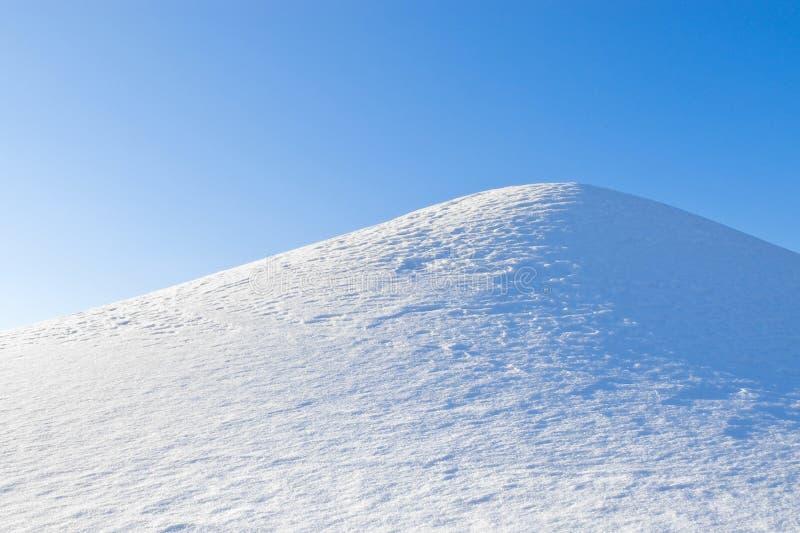 Collina della neve immagini stock libere da diritti