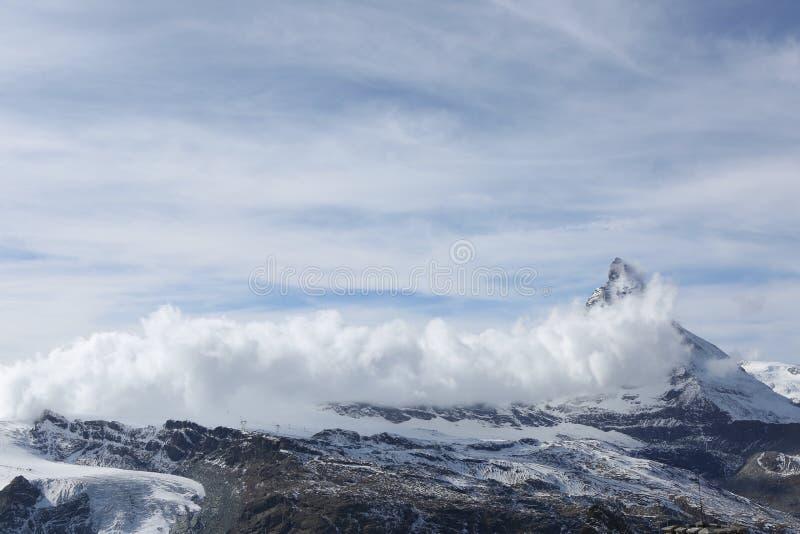 Collina della neve fotografia stock