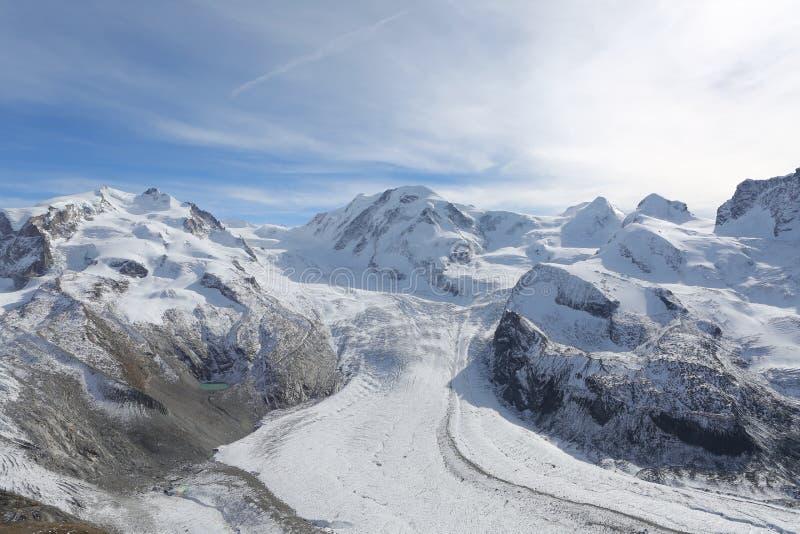 Collina della neve immagine stock