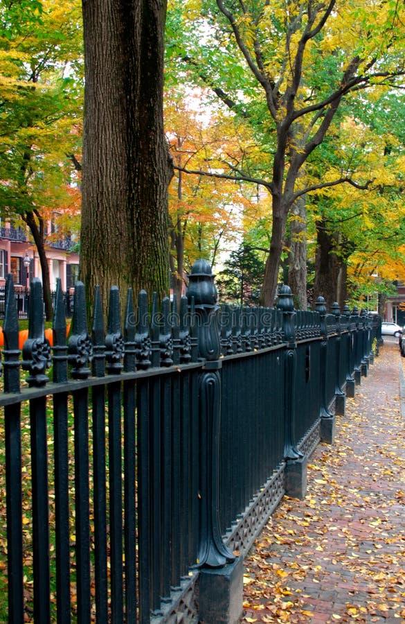 Collina di falò, Boston immagine stock