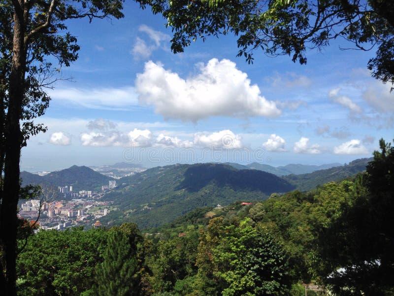 Collina di Penang immagini stock libere da diritti