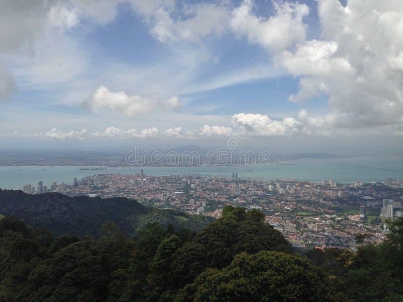 Collina di Penang immagine stock