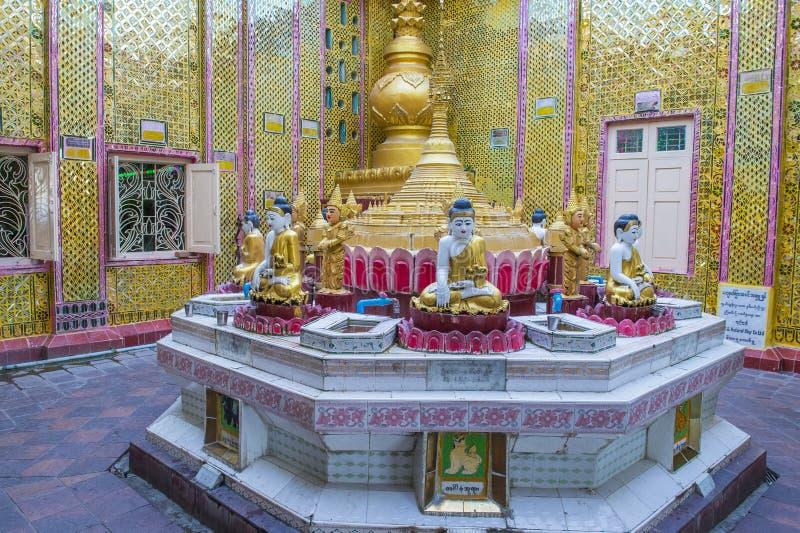Collina Myanmar di Mandalay immagini stock