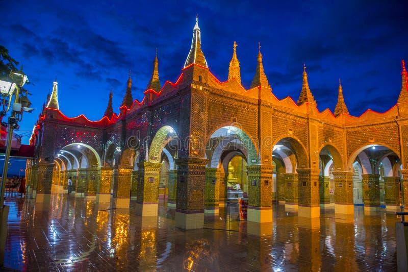 Collina Myanmar di Mandalay fotografie stock