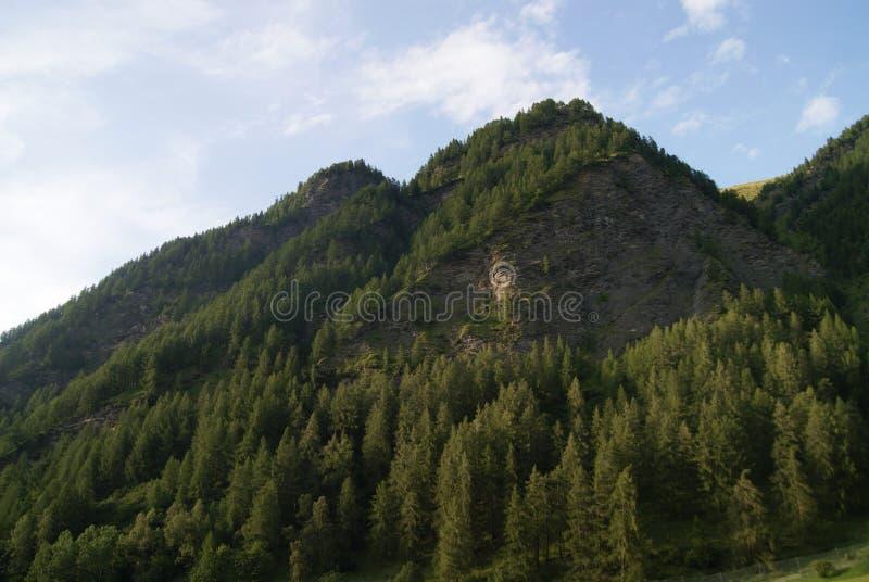 Collina rocciosa in Austria fotografia stock libera da diritti
