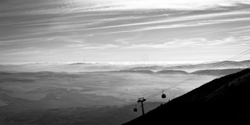 Collina rocciosa del Tarn, alto Tatras, Slovacchia immagini stock