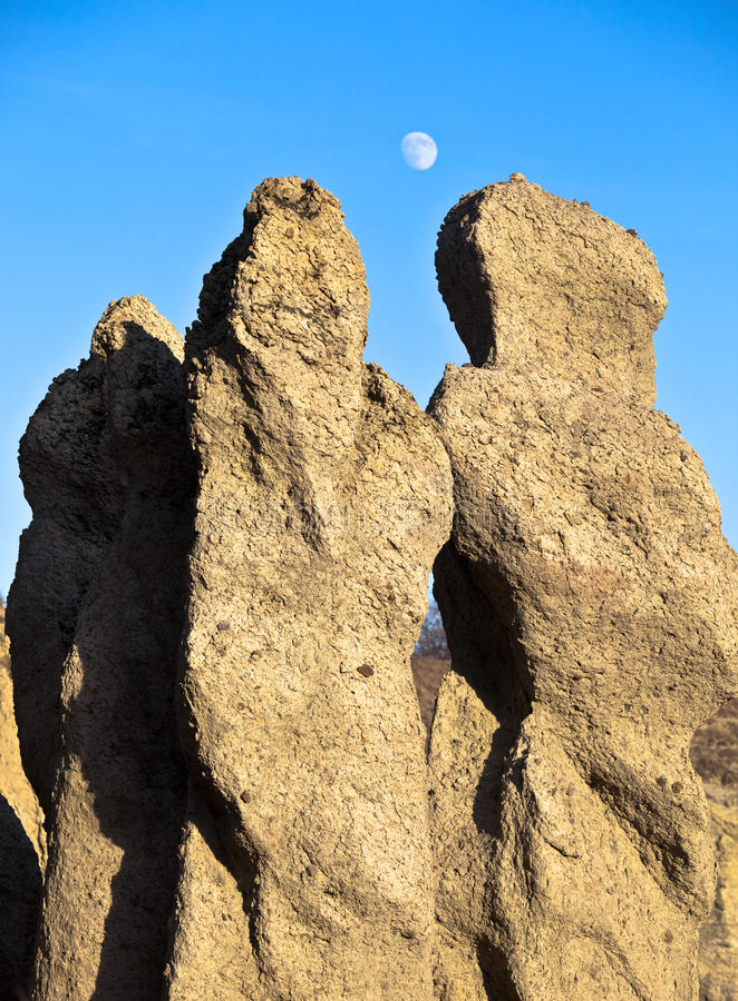 Collina rocciosa Kuklica immagine stock libera da diritti