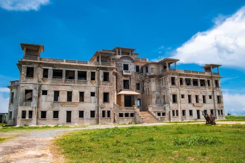 Colline de Bokor de ville fantôme photos stock