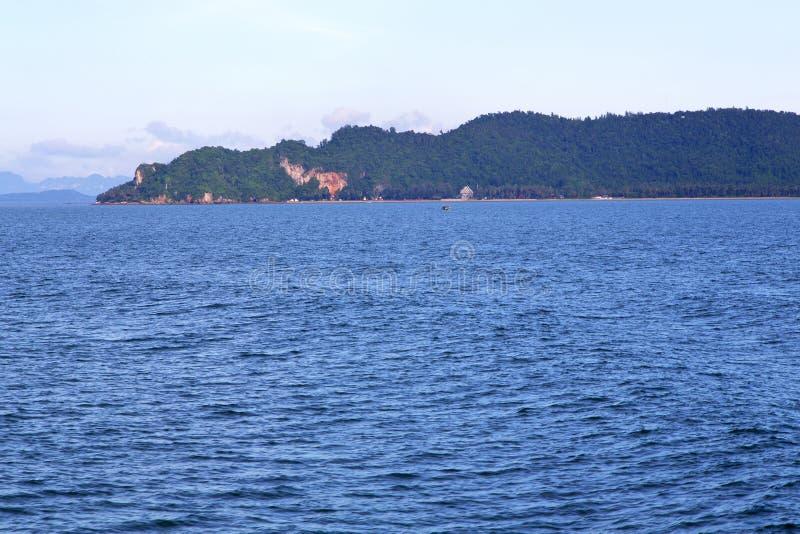 colline de l'Asie myanmar en Thaïlande et mer de sud de la Chine photo libre de droits