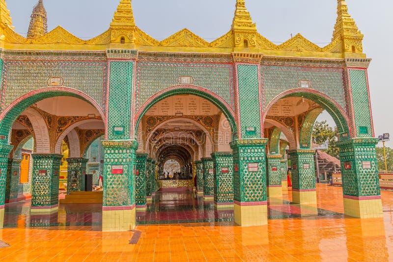 Colline de Mandalay images stock