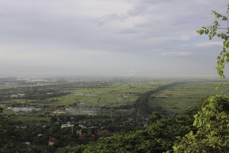 Colline de Mandalay photographie stock libre de droits