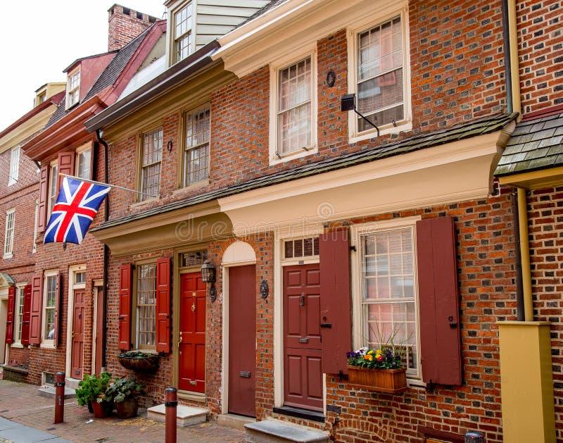 Colline de société de Philadelphie image libre de droits
