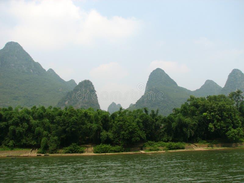 Colline di Guilin fotografie stock libere da diritti