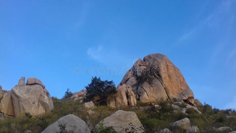 Colline di Horsley, Chittoor, Andhra Pradesh immagine stock