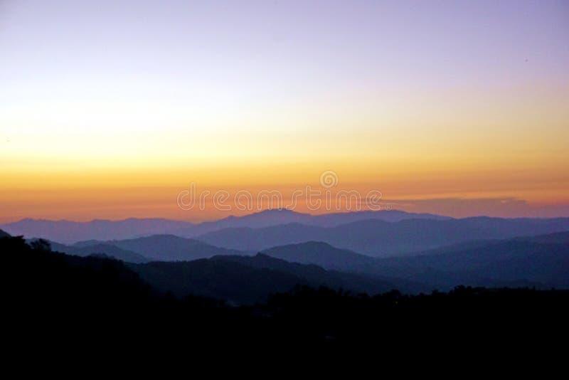 Colline fertili del Nagaland, area tribale, India di nordest fotografie stock