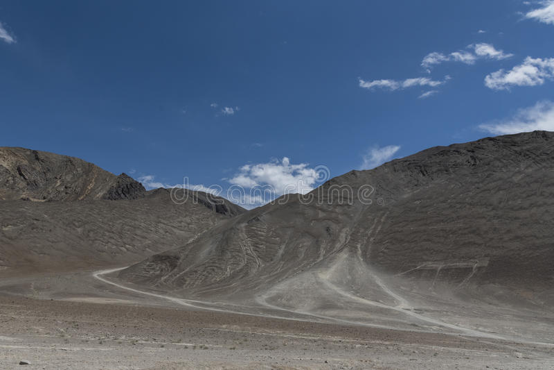 Colline magnétique dans Leh, ladakh, Inde, Asie image stock