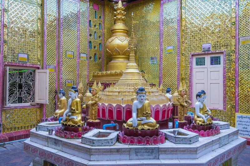 Colline Myanmar de Mandalay photographie stock