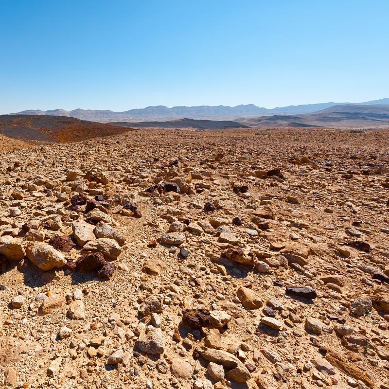 Colline rocciose immagine stock