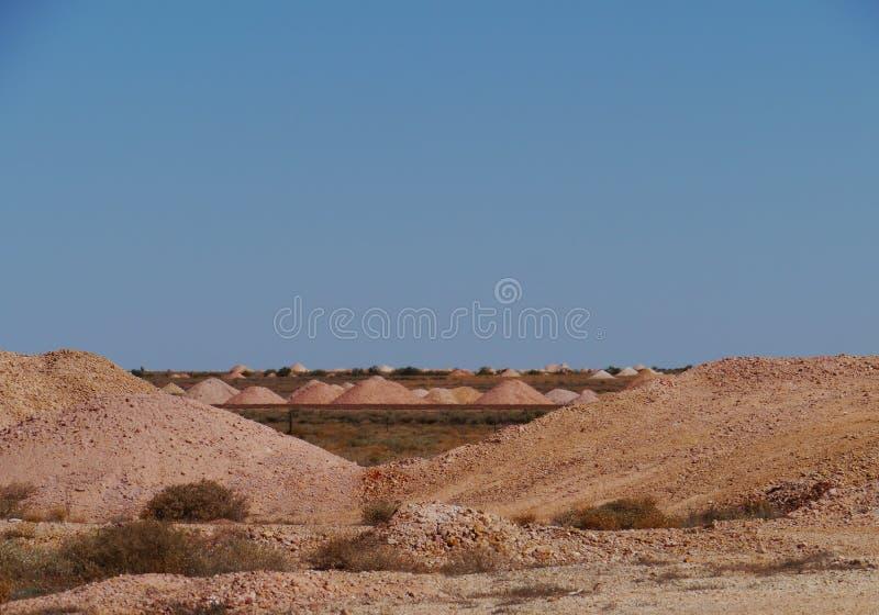 Colline variopinte della terra fotografia stock libera da diritti