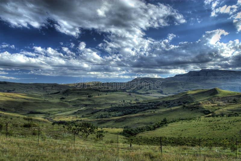 collines de drakensberg photographie stock libre de droits