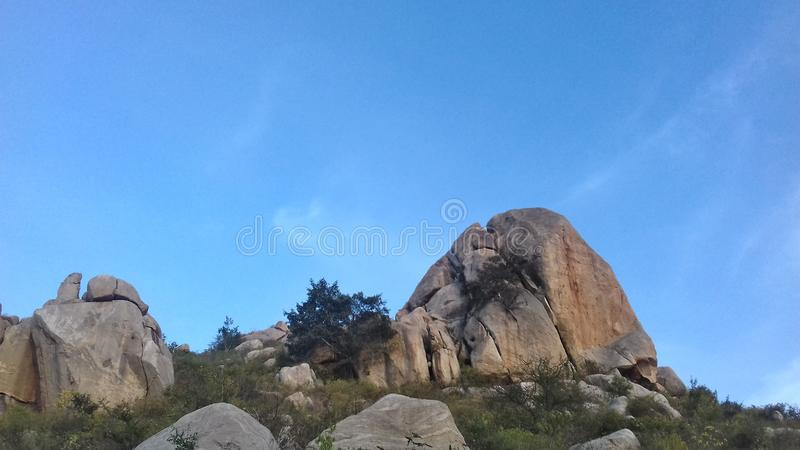 Collines de Horsley, Chittoor, Andhra Pradesh photo libre de droits