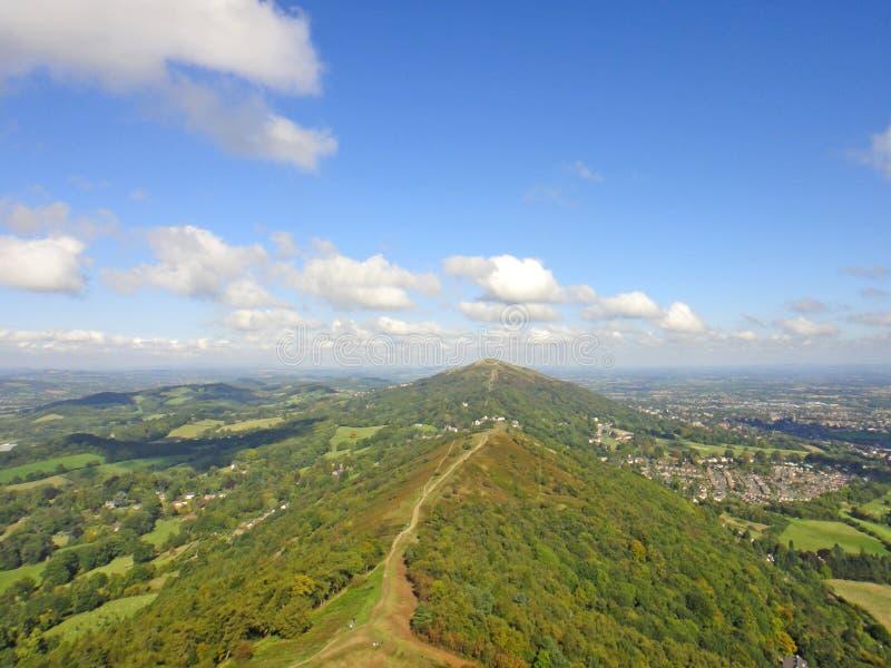 Collines de Malvern, Worcestershire photos libres de droits