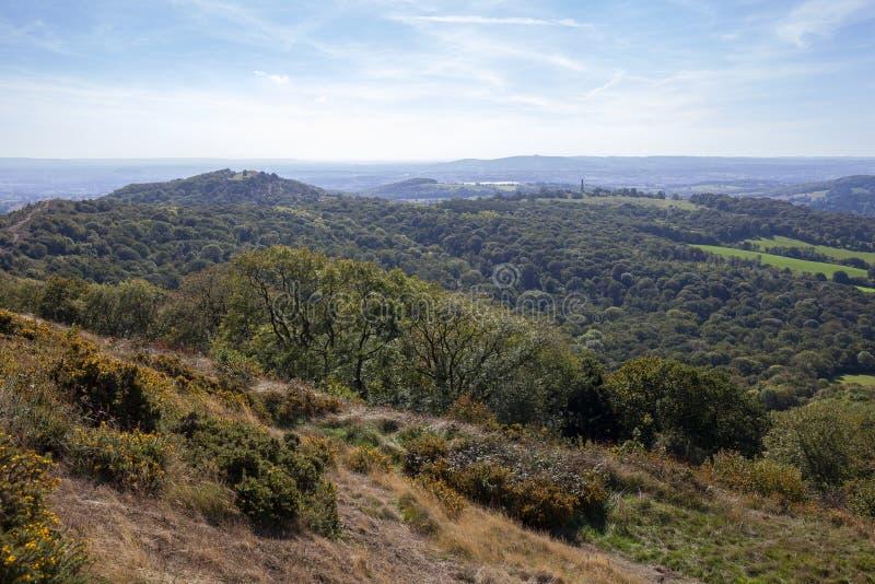 Collines de Malvern, Worcestershire, Angleterre photos libres de droits