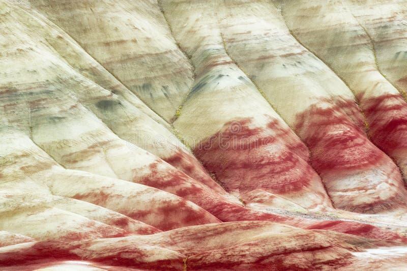 Collines peintes John Day Fossil Beds image libre de droits