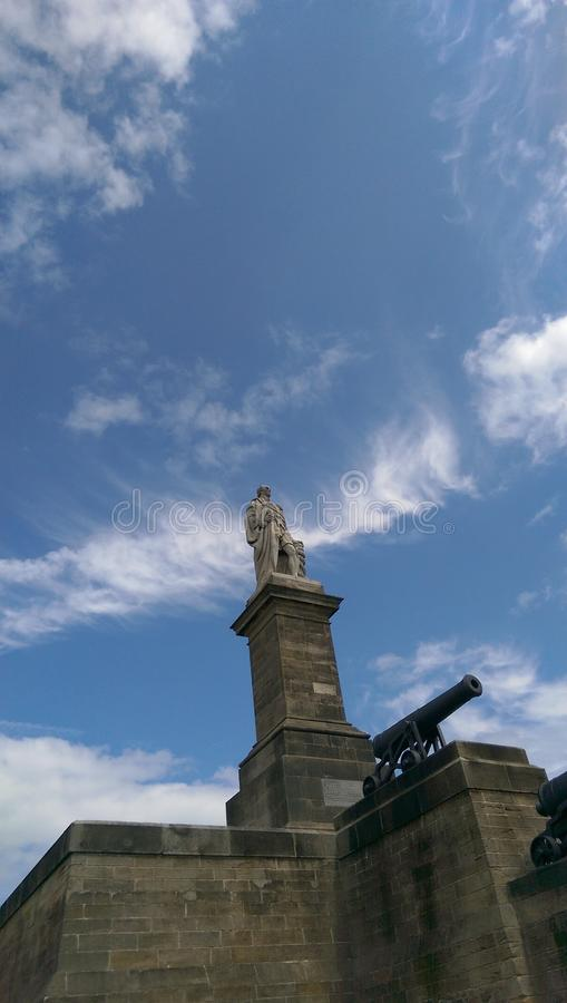 Collingwood-Monument stockfotos