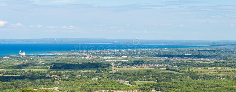 Collingwood w Ontario obraz royalty free