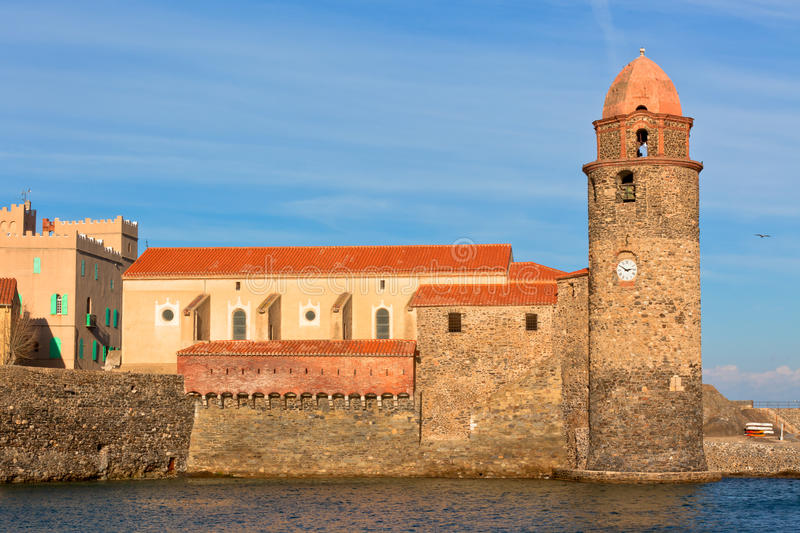 Collioure, South of France royalty free stock photography